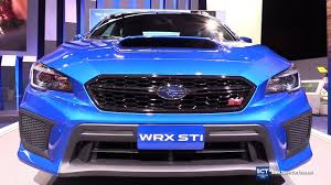 subaru wrx interior 2018 2018 subaru wrx sti exterior and interior walkaround debut at