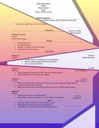 How To Type Resume In Word With The Accents 4 Résumé Designs That U0027ll Nail You That Job Interview