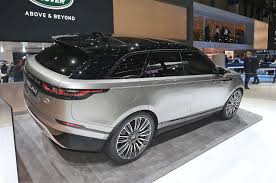 range rover evoque rear 2018 land rover range rover velar first look
