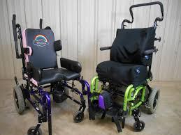 used 2 child wheelchairs zippie by gizmo by freedom