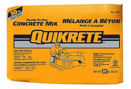 quikrete concrete mix 30kg the home depot canada