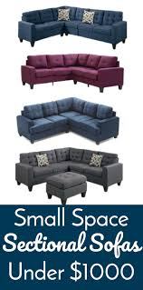 Small Space Sectional Sofa by Small Space Sectional Sofas Under 1000 Lifestyle For Real Life