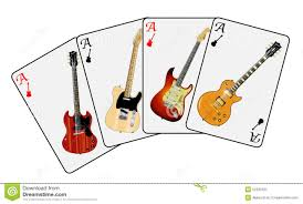 guitar cards stock illustration image 52335101