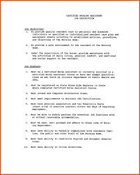 student resume sle resume sle of nursing rn hospice certified assistant cna
