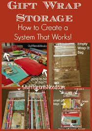 how to store wrapping paper and gift bags how to organize and store wrapping paper giveaway