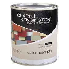 clark kensington paint and primer in one interior color sample