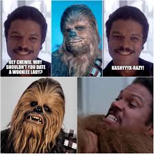 Lando Calrissian Meme - star wars jokes are funny imgflip