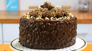 ferrero rocher cake chocolate hazelnut cake it u0027s raining flour