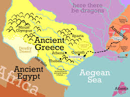 Ancient Greece Maps by Oh Boy Extras