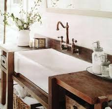 Modern Bathroom Sink Vanity Picturesque Bathroom Farm Sink Vanity Farmhouse Style Hooked On