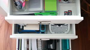 Organizing Desk Drawers by Basilchic U2013 Home Organization Inspiration Interior Design