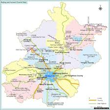 map of areas and surrounding areas beijing and surrounding area tourist map beijing china mappery