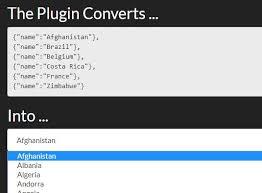 convert json to html table convert json data to html jquery miranda js free jquery plugins
