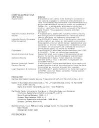 Security Jobs Resume by Resume Templates Personnel Security Specialist Free Resume