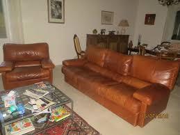 canapé et fauteuil en cuir canape fauteuil cuir occasion offres juin clasf
