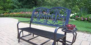patio glider bench for outdoor enjoyment country porch world