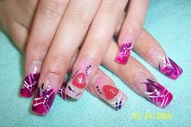 nail designs for long nails image collections nail art