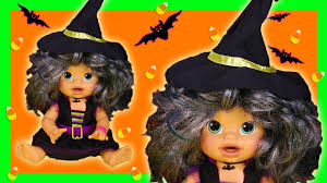 witch costume spirit halloween baby alive halloween witch costume doll eats play doh poops