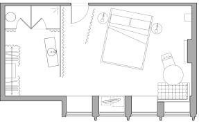 Typical Hotel Room Floor Plan Luxury London Hotel Rooms U0026 Suites Standard Room Sanderson Hotel
