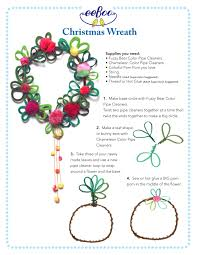 eeboo studio blog archive craft idea pipe cleaner christmas