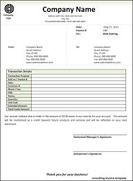 sample of contractor invoice and contractor invoice template word