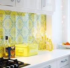 wallpaper kitchen backsplash ideas 16 creative ways to use wallpaper in the kitchen traditional