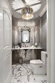 Mirror Bathroom Tiles Small Baths With Big Impact Mirror Tiles Mercury Glass And Glass