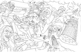 best dr who coloring pages 14 for free colouring pages with dr who