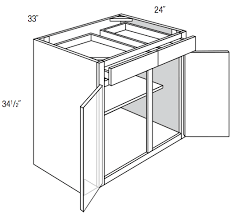 what is the depth of a base cabinet b33 amesbury brown base cabinet doors drawers