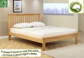 light wood picture frames orchard kingsize wooden bedstead by ecofurn beds
