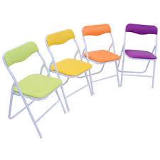 goplus kids 5 piece folding table chair set children multicolor