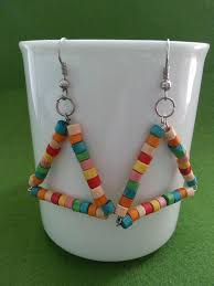 diy wooden beads earrings diy jewelry u0026 ideas pinterest
