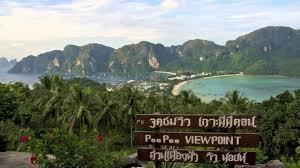 koh phi phi village phi phi island amazing thailand youtube