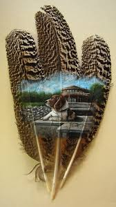 turkey feather painting 128 best feather images on feather feather