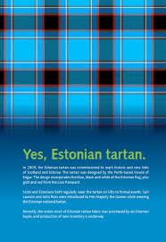 Estonian Flag Scots In Estonia By Eas Enterprise Estonia Issuu