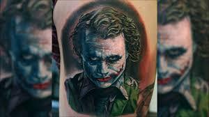 joker tattoo video joker tattoo timelapse by mitch youtube