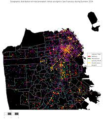 Seattle Crime Map by Analyzing 2 Months Of Real Crime Data From San Francisco And