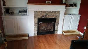 Trim Around Fireplace by Project Day Fireplace With Built Ins Create Your Free Maker