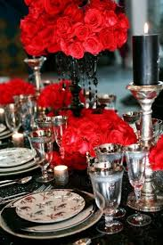 Red And Black Wedding 37 Classic Red And Black Halloween Ideas Digsdigs