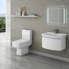 Cheap Modern Bathroom Suites Malaga Contemporary Bathroom Suite Now At Plumbing Co Uk