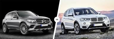 suv bmw mercedes glc vs bmw x3 suv comparison carwow