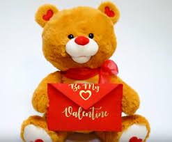 valentines teddy bears teddy singing talking roses plush stuffed