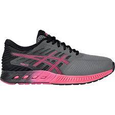onlin exclusive asics womens fuzex running shoes titanium azalea black