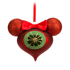 Marvel Christmas Ornaments - minnie mouse reflector glass ornament winter holidays