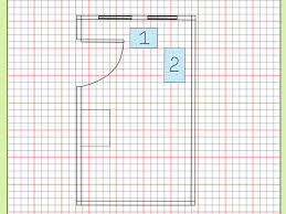 Standard Measurement Of House Plan by How To Draw A Floor Plan To Scale 7 Steps With Pictures