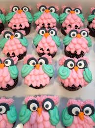 owl cupcakes for owl themed baby shower cakecentral com