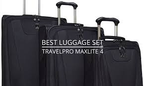 travel pro images The best luggage set travelpro maxlite 4 spinner luggage set jpg