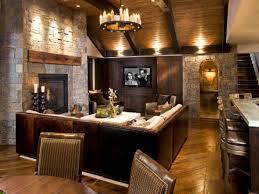 rustic living room decorating ideas rustic basement family room