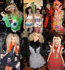 Rave Halloween Costume Tokyo Decadance Halloween Cyber Rave Goth Party Christon Cafe