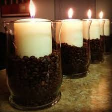 coffee bean candle jar candle set so easy to make just buy different sized